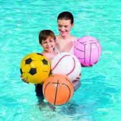 Beach ball, sport, Pink. Ø 41 cm.