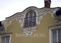 Фасадний декор зі стеклофибробетона (СФБ)