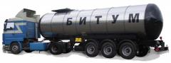 Bitumen oil 70/100, production Belarus