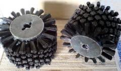 Brushes to zernoochistitelny equipmen