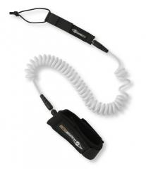 BIC 11ft SUP Leash Coil - twisted safety cord for