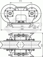 Монтажные ролики МИ-363