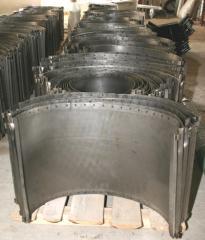 Решета пробивные для зерноочистительных машин БЦС-100, МЗП-50