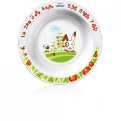 Детская тарелка большая PhilIps Avent SCF 704 00