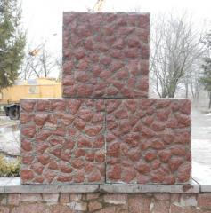 Concrete intaking block 1000×1000×500 of mm