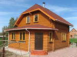 Антисептик-биозащита древесины под крышей от всех