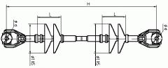 Распорки межфазовые изолирующие полимерные