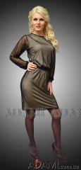 Коктейльное платье с рукавами, Артикул №285550