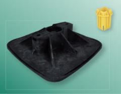 Опорные системы BIS Yeti 335 для создания любых конструкций на плоских кровлях