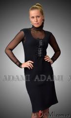 Платье черное классическое, Артикул №285443