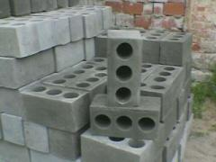 Шлакоблок строительный стандартный