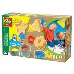 Пальчиковые краски  серии Эко Ses  Цветные Штампы