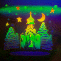 Optical iridescent 2D/3D holograms