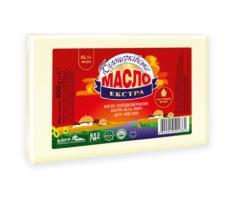 Масло сладкосливочное «Экстра» 82,5% жира, 400 г, пергамент