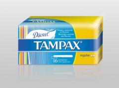 Гігієнічні тампони Tampax регуляр з апл 16 шт