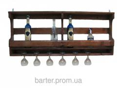 The shelf for bottles, wine racks 1000*500*150