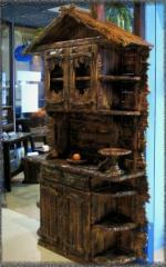 Сервант дерев'яний під старовину