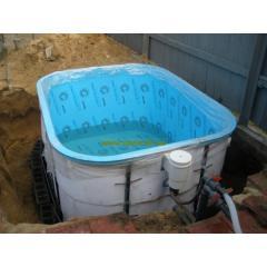 Купель, бассейн полипропиленовый 2,5х2,5х1,5м