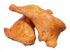 Ham chicken smoked