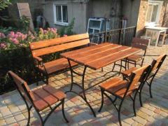 Комплект мебели  Столы и стулья для дачи, кафе 4 стула + 1 стол