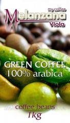 Зеленый кофе в зернах для похудения (100% Арабика