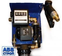 Small diesel fueling, 12V, 24V, 220V, 60 l / min