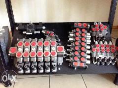 The hydrodistributor on the Ukraine manipulator