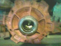 Naves for agricultural machinery. PRT 3 nave.