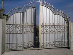 Ворота металлические МВ-67