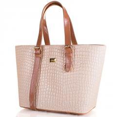 Women bag from a qualitative kozhezamenitel of