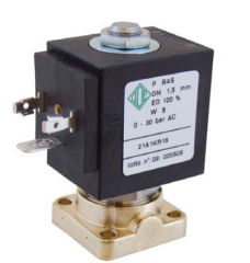 The electromagnetic valve for the compressor, the