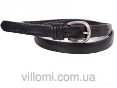 Женский узкий кожаный ремень ETERNO E7086