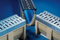Aco self euroline a tray from a polimerbeton with