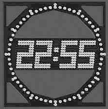 Hours, running lines, information displays
