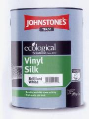 Vinyl semi-gloss Vinyl Silk paint.