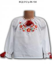 Blouse the embroidered VSD 012, river 86-104
