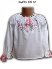 Blouse the embroidered VSD 012, river 86-104, pink