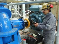 Laser tsentrovshchik (system of laser centering of