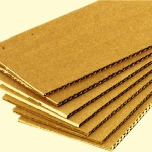 Corrugated cardboard, sale wholesale from the