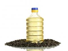 Sunflower oil not refined packed up