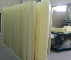 Polyurethane lining