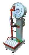 Scales for gas station of cylinders with the