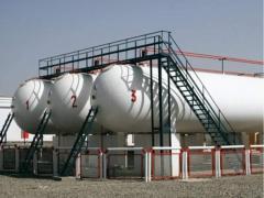 Емкости для хранения газа 200 куб. м