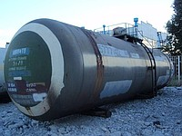 Tanks railway (tanks without wheel pair) of 54 CBM