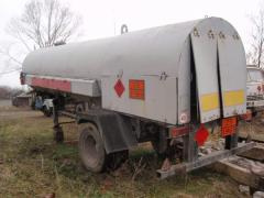 The tank for transportation propane-butane of 12,5
