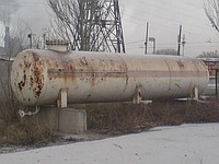 Gas capacity for propane
