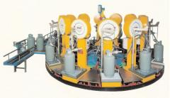 Equipment for filling of cylinders