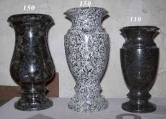 Vase granite