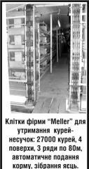 """Клетки фирмы """"Meller"""" для"""