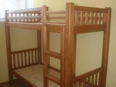 Кровать двухъярусная без ящиков